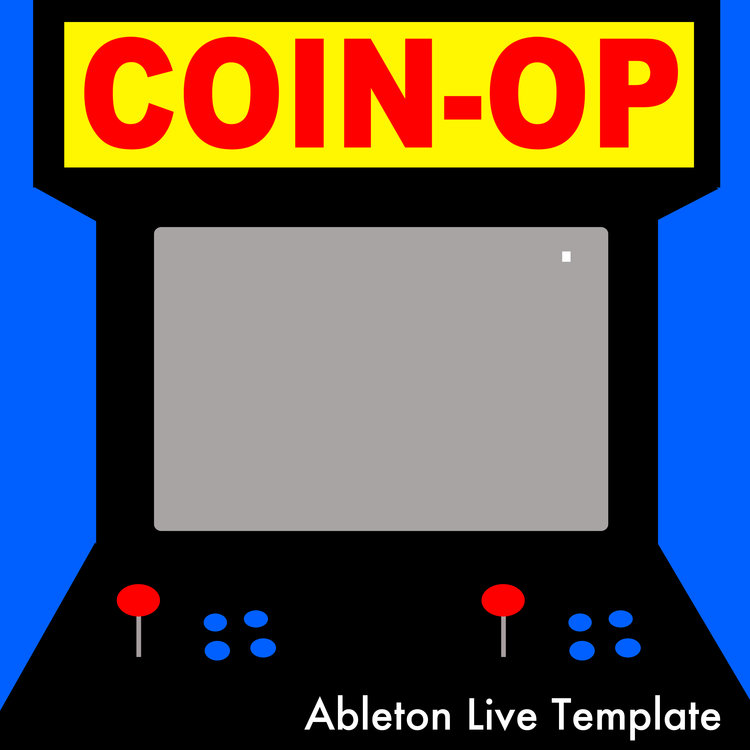 سمپل پک COIN-OP شامل صداهای بازی های ویدیویی رترو برای ابلتون لایو