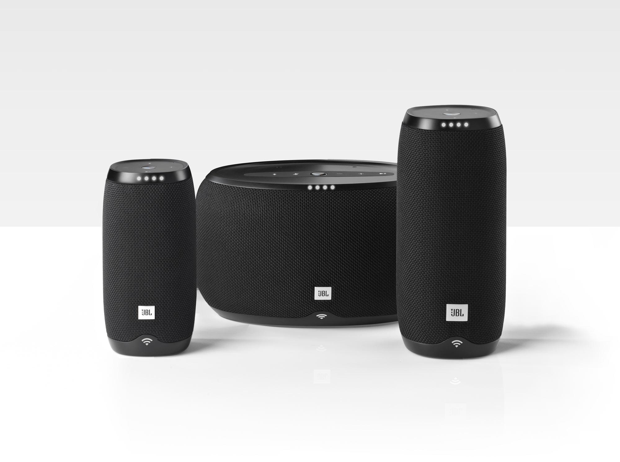 اسپیکرهای بلوتوث سری JBL LINK با قابلیت کارکرد با دستیار صوتی گوگل معرفی شدند