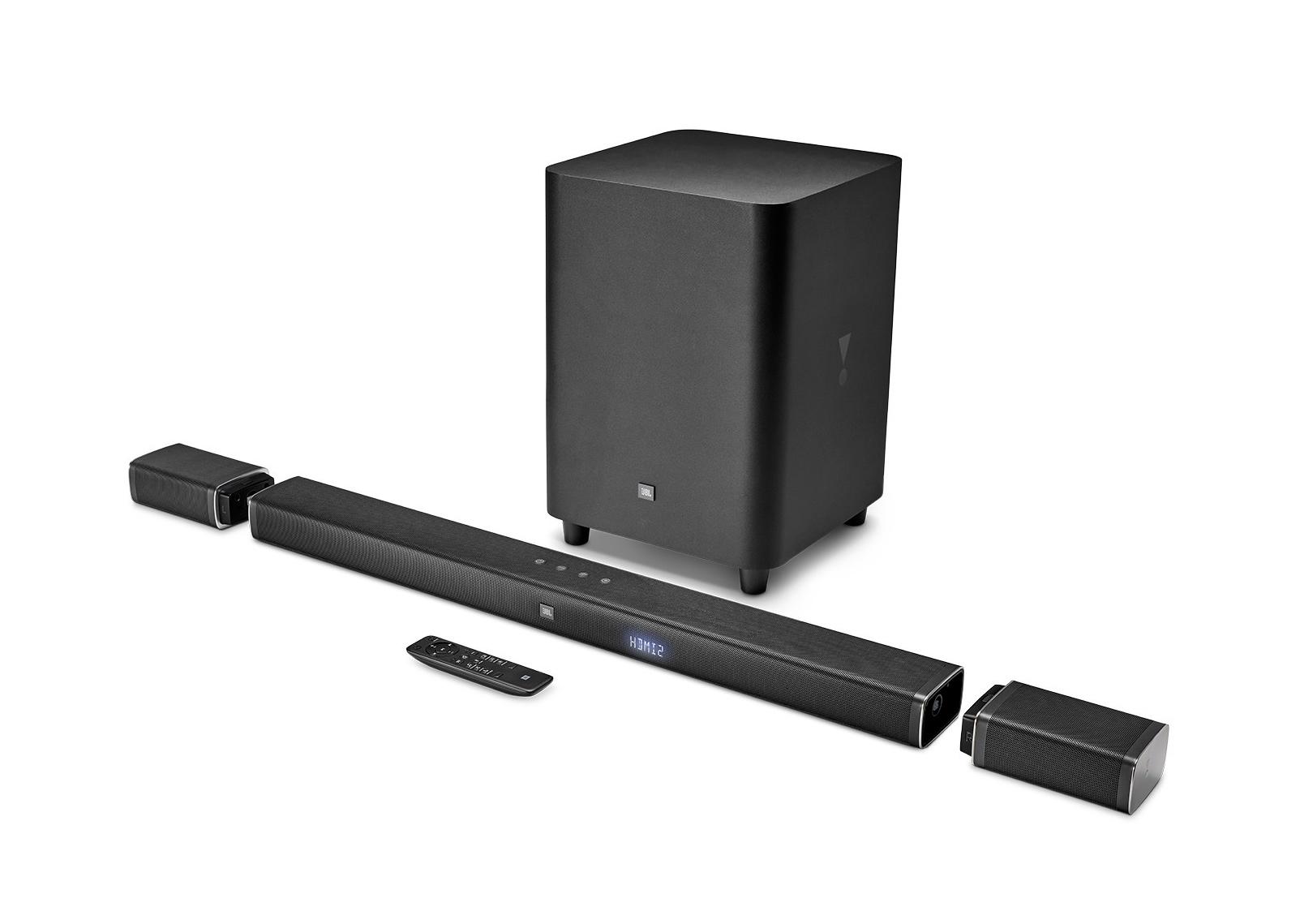 سری جدید ساند بارهای JBL با قابلیت پخش ساراند و اتصال اسپیکر به تلویزیون