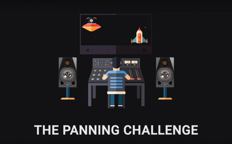 The Panning Challenge تست تشخیص پنینگ بوسیله گوش