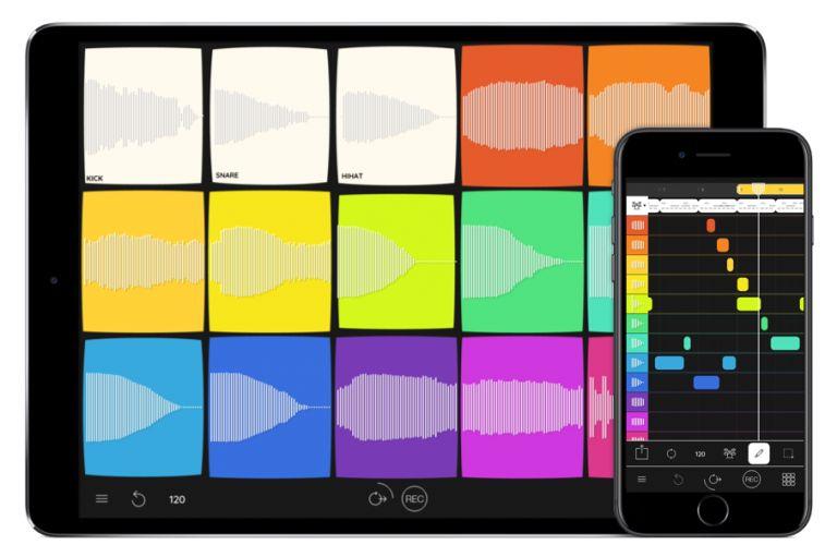 معرفی اپلیکیشن های آهنگسازی ios ؛ Samplebot سمپلری قدرتمند و رنگارنگ