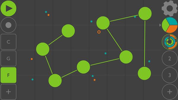 معرفی اپلیکیشن های آهنگسازی ios ؛ dot Melody سیکونسری با رابط کاربری بسیار خلاقانه