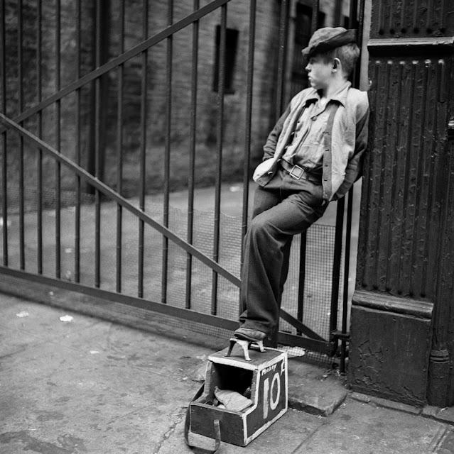 عکس هایی از استنلی کوبریک 17 ساله