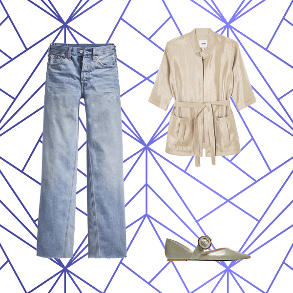 4 استایل پیشنهادی مختلف با استفاده از یک شلوار جین !