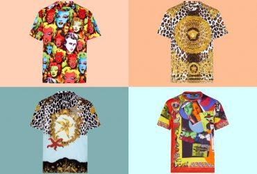 تی شرت هایی به سبک رترو در کلکسیون بهار و تابستان 2018 ورساچه