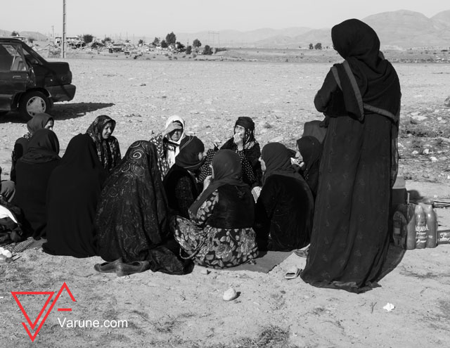 گزارش تصویری از مناطق زلزله زده کردنشین