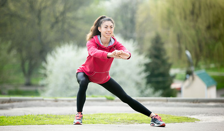 ورزش در زمان عادت ماهانه