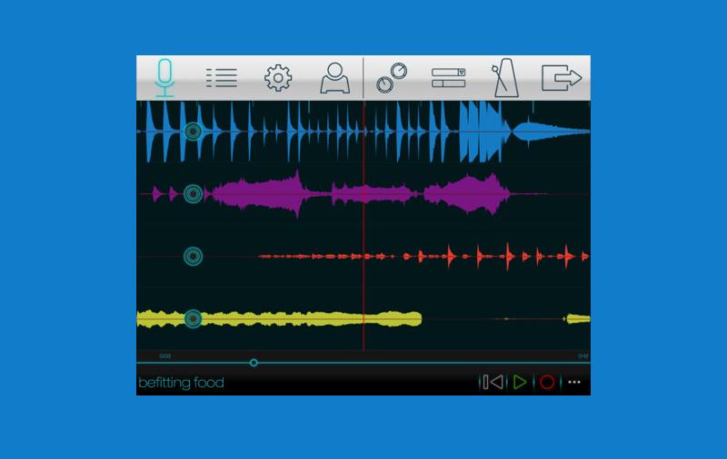 اپلیکیشن ضبط صدا Momentum