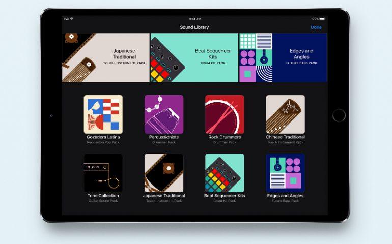 اپل اپلیکیشن گاراژبند برای IOS را به همراه کتابخانه صوتی رایگان بروز رسانی کرد !
