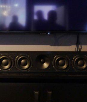 اولین ساندبار سنهایزر با 13 اسپیکر و صدایی سه بعدی !!!
