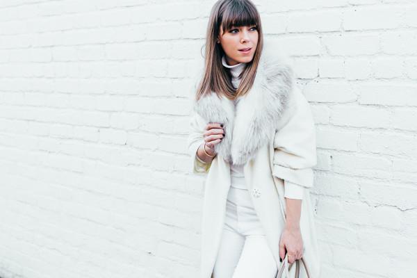 چگونه در فصل زمستان سفید بپوشیم ؟