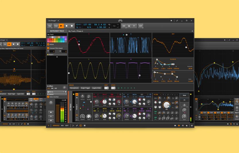 نرم افزار آهنگسازی Bitwig Studio 2.3
