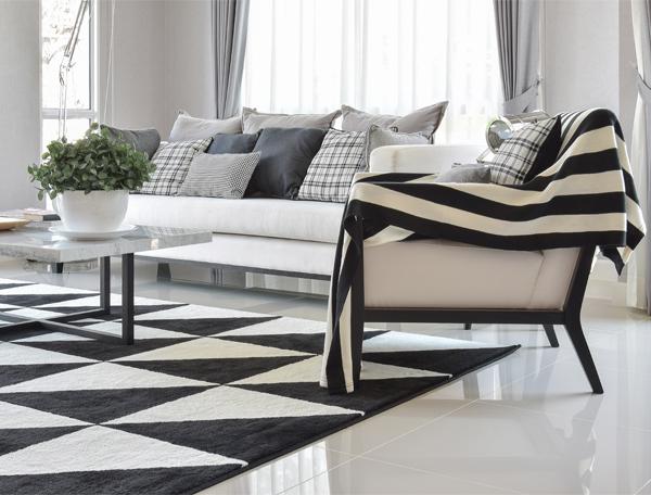 فرش مناسب با دکوراسیون منزل