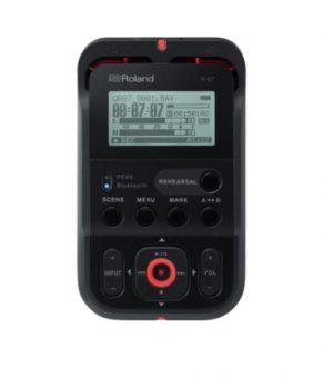 رکوردر دستی رولند R-07 با قابلیت کنترل توسط گوشی و اپل واچ