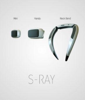اسپیکرهای S-Ray سامسونگ همانند هدفون عمل می کند و صدایش مزاحم دیگران نمی شود !