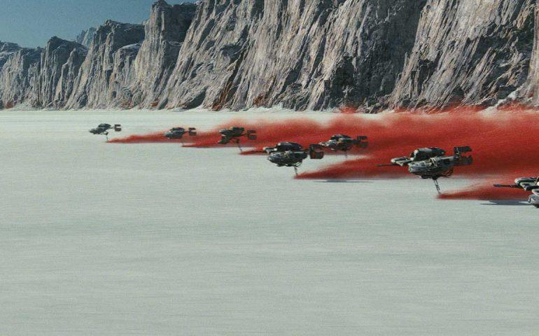 جلوه های ویژه فیلم جنگ ستارگان آخرین جدای