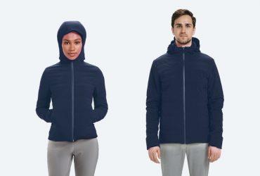 این کاپشن هوشمند می تواند با توجه به دمای محیط بدنتان را گرم کند !