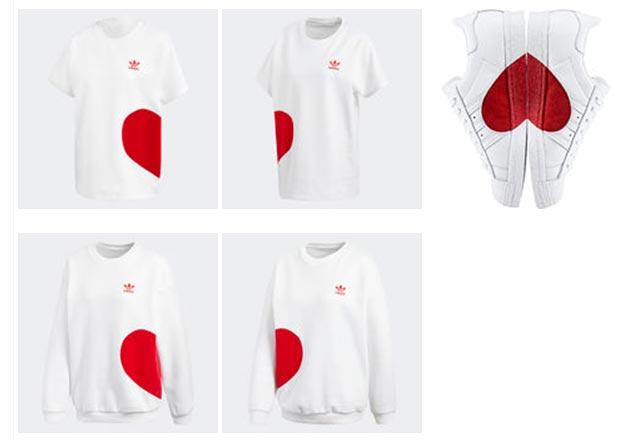 با طراحی های جدید برند آدیداس برای روز ولنتاین آشنا شوید !