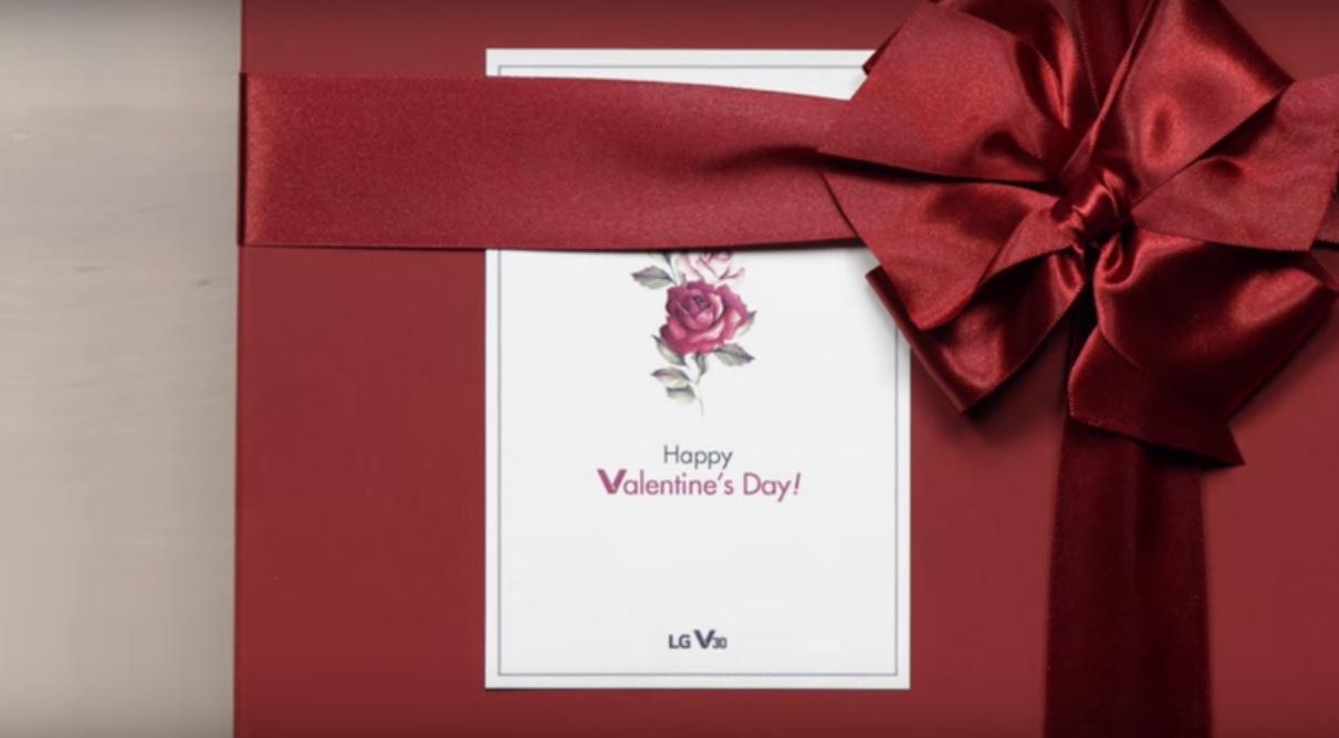 گوشی LG V30 Raspberry Rose هدیه ای ویژه برای ولنتاین !