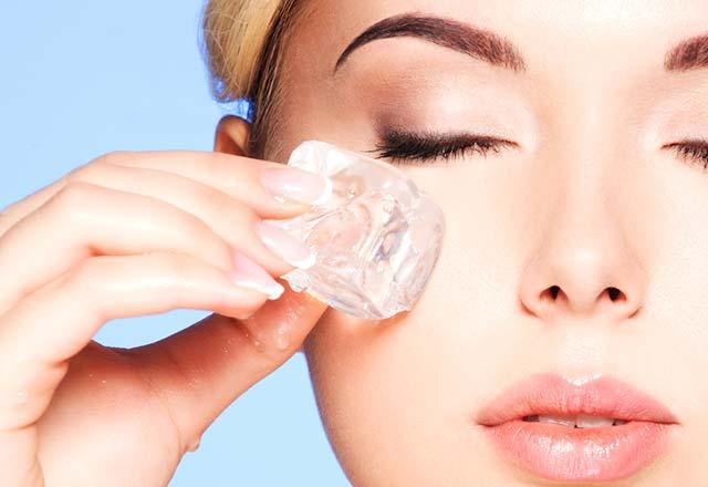 درمان چشم های پف کرده هنگام صبح