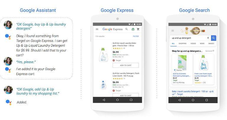 امکان خرید محصولات از طریق دستیار صوتی گوگل و نتایج جستجو ممکن شد