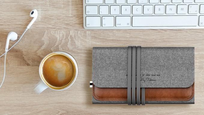 +MousePad موس پدی زیبا از جنس پشم با قابلیت شارژ بی سیم گوشی های هوشمند !