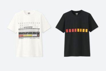 تی شرت TR-808 محصول مشترک رولند با UNIQLO