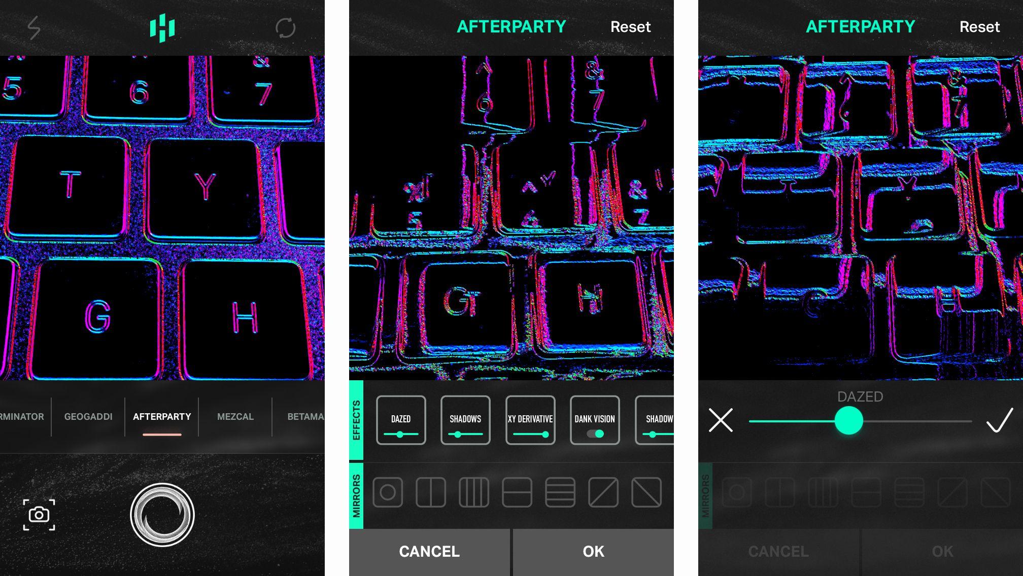 اپلیکیشن عکاسی Hyperspektiv به شما امکان خلق تصاویر glitchy و سایکدلیک را می دهد !
