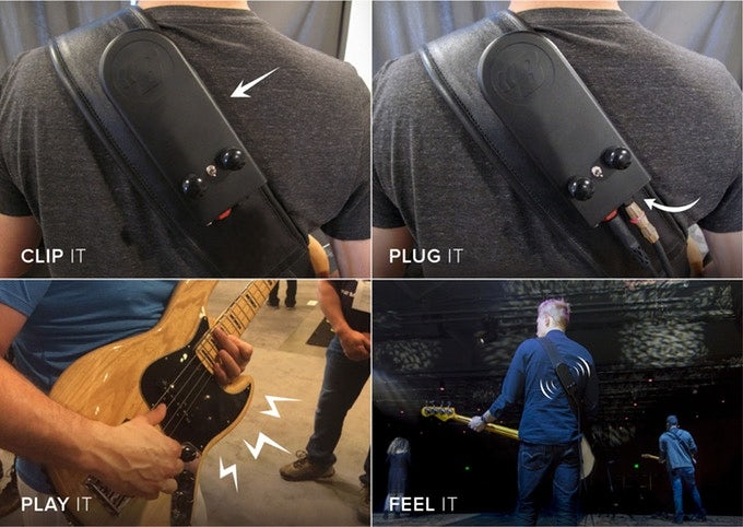 ساب ووفر قابل پوشیدن BackBeat