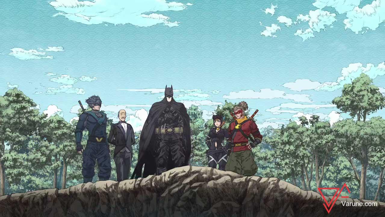 بررسی انیمه سینمایی بتمن نینجا Batman Ninja