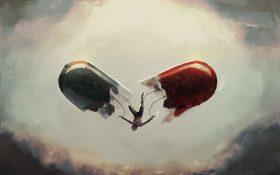 نمایش افسردگی به صورت هنر !