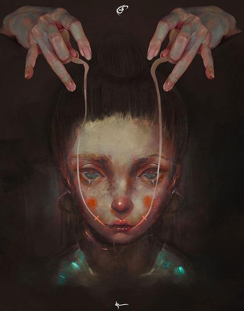 نمایش افسردگی به صورت هنر