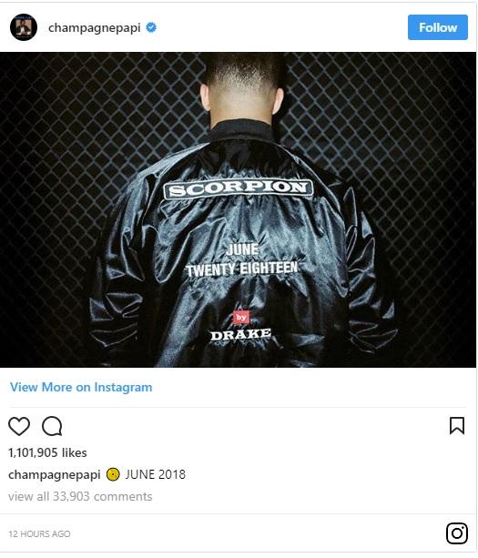 آلبوم جدید Drake (درک) Scorpion معرفی شد !