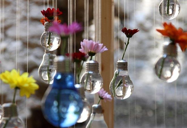7 ایده جالب برای استفاده دوباره از لامپ ها !