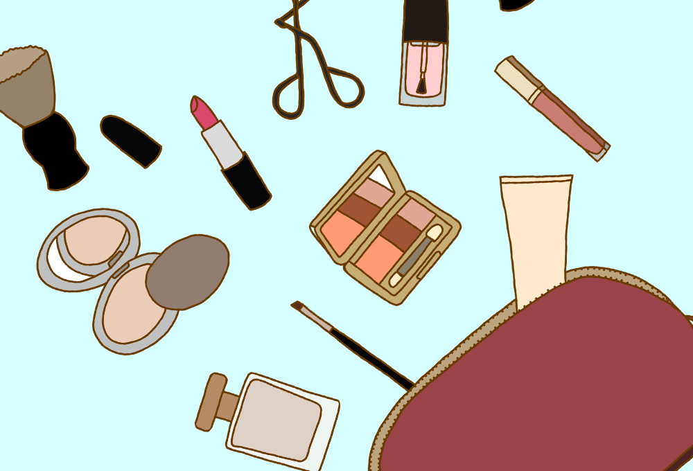 کیف لوازم آرایش بدون باکتری