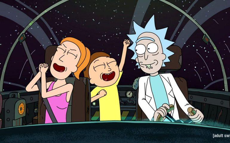سریال ریک و مورتی برای 70 قسمت دیگر تمدید شد