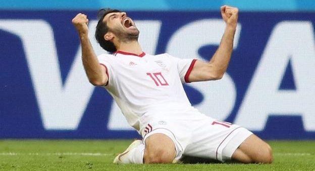 تصاویری زیبا از بازی ایران – مراکش در جام جهانی 2018