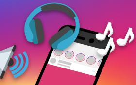 امکان اضافه کردن موسیقی به استوری اینستاگرام امکان پذیر شد !