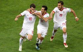 تصاویری دیدنی از بازی ایران – پرتغال در جام جهانی 2018