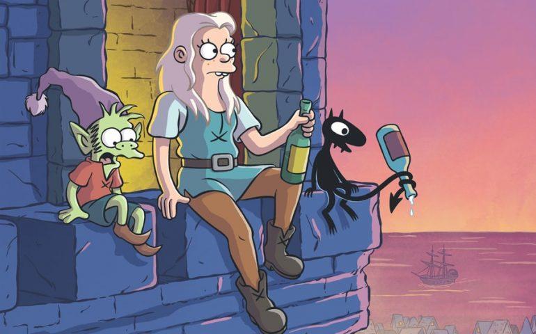 اولین تریلر سریال انیمیشنی Disenchantment منتشر شد