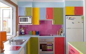 9 پیشنهاد برای دکوراسیون آشپزخانه های رنگارنگ !