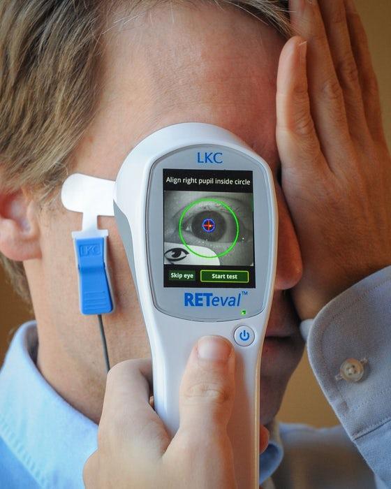 تشخیص اسکیزوفرنی بوسیله معاینه چشم