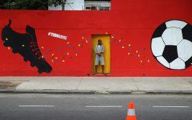 نقاشی های خیابانی جالب در ارتباط با جام جهانی !