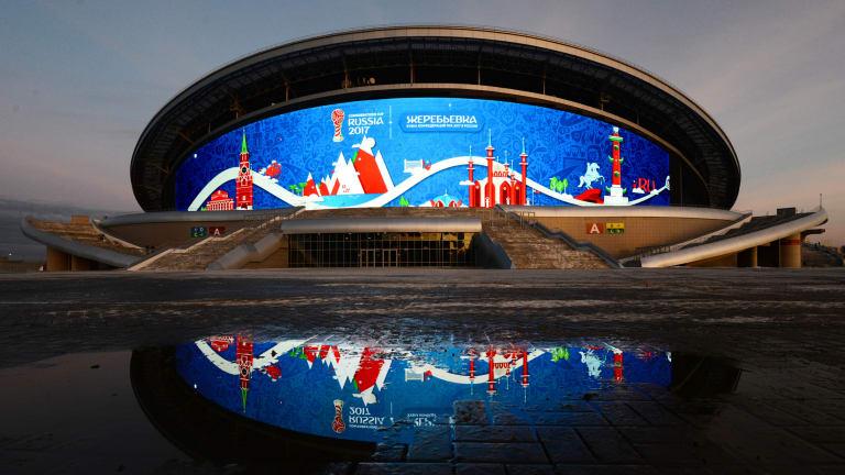 ورزشگاه کازان آرنا میزبان بازی ایران مقابل اسپانیا