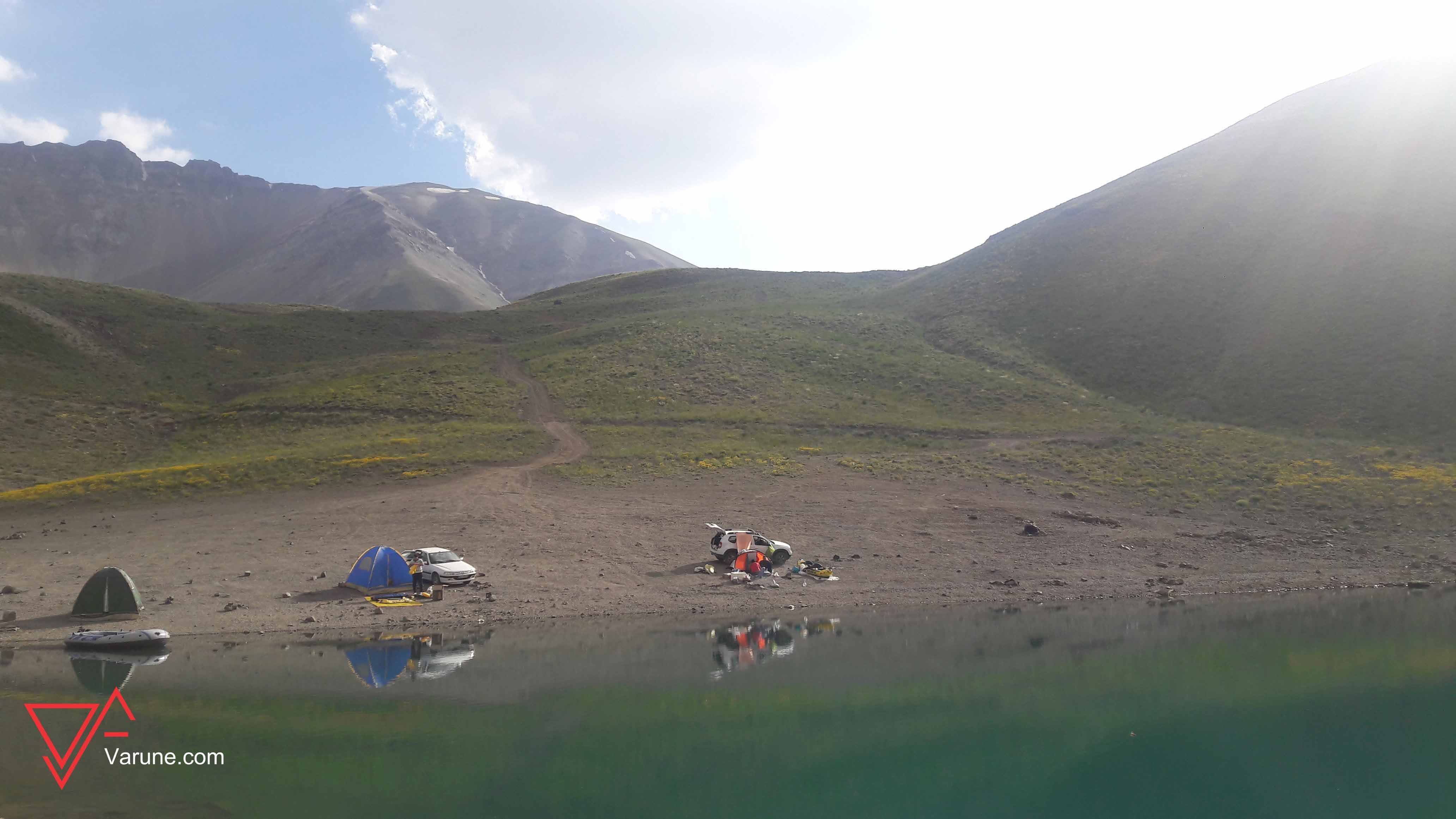 گزارش برنامه دریاچه تار و هویر