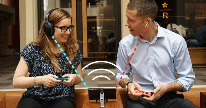 اتصال بلوتوث صوتی در نینتندو سوئیچ