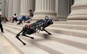ربات چیتا 3 می تواند بدون دیدن پله از آن بالا رود !