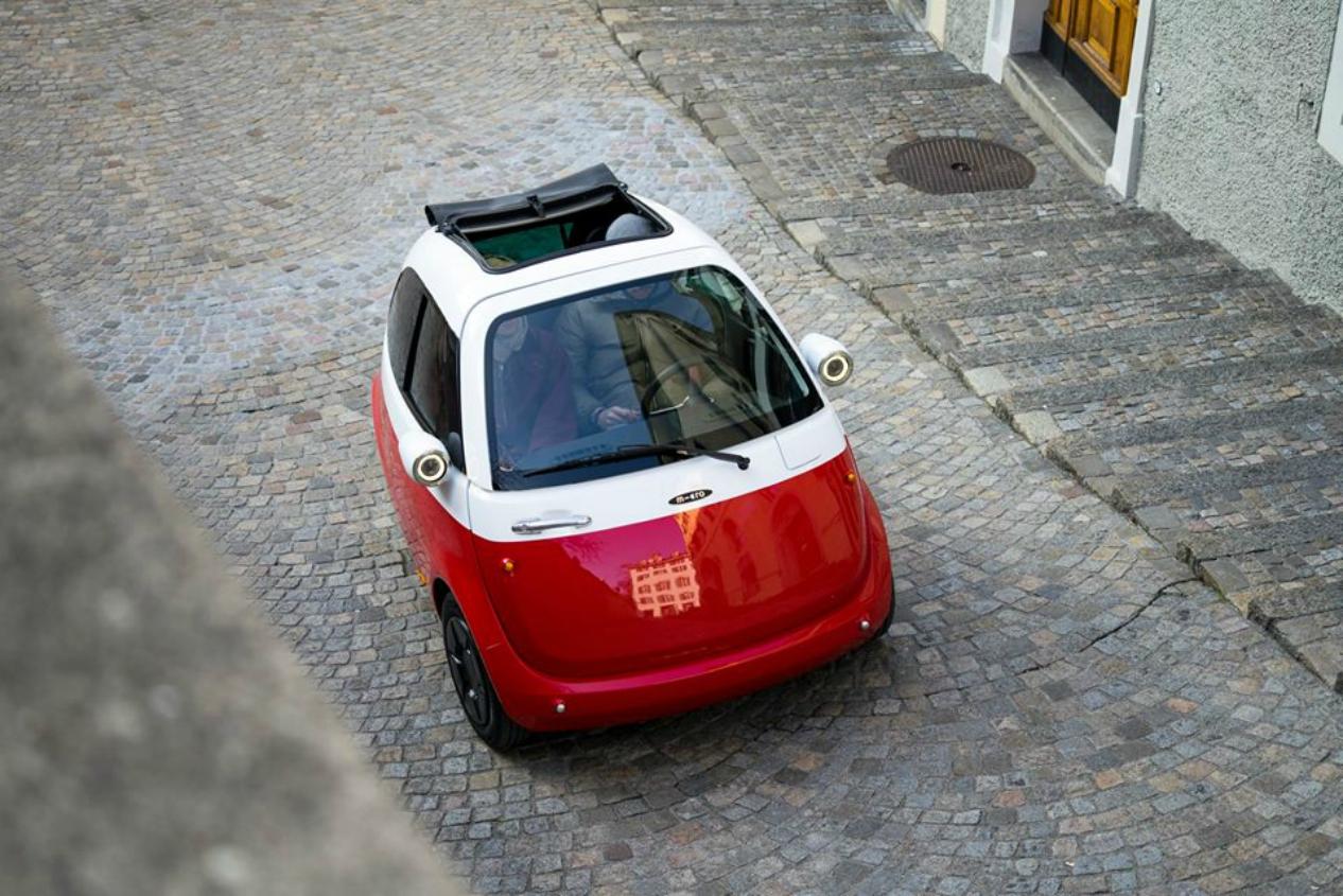 به زودی این خودرو کوچک 250 سانتی متری Microlino وارد خیابان های اروپا می شود!