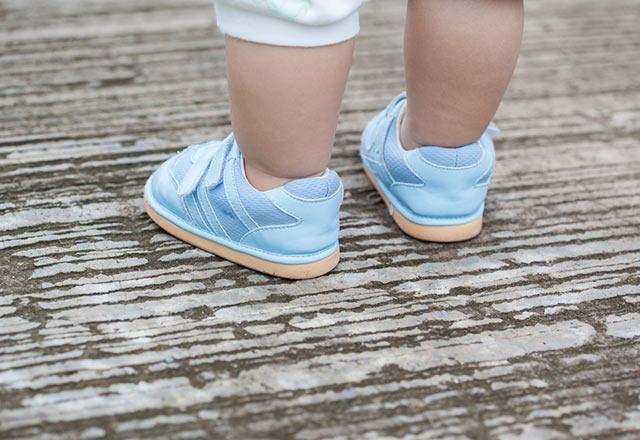 چرا اولین کفش کودک شما مهم است