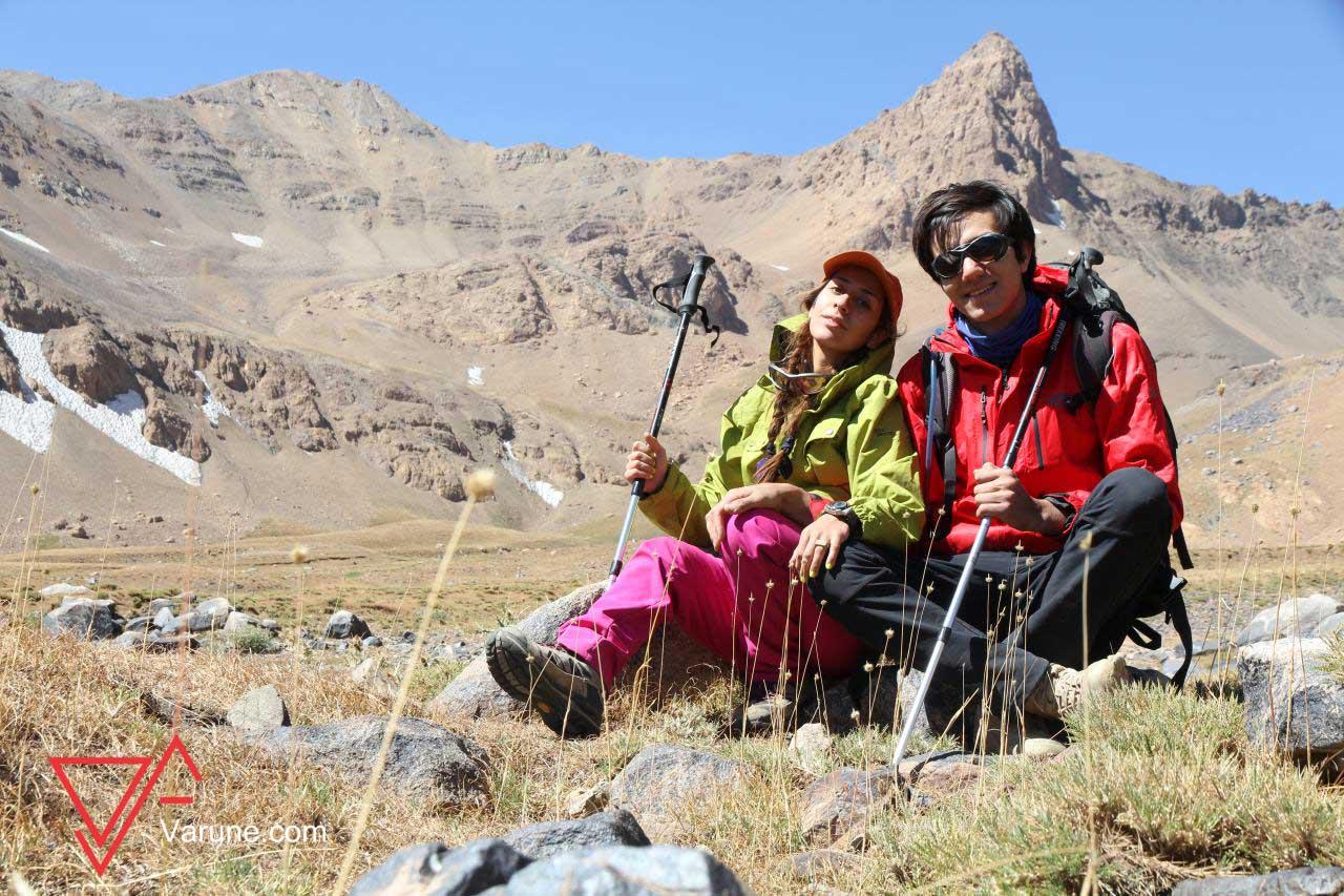 راهنمای صعود به علم کوه ، بهشت تخت سلیمان